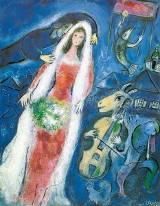 la mariée Chagall Yiddish pour tous