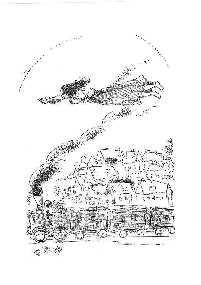 Illustration par Marc Chagall n°6