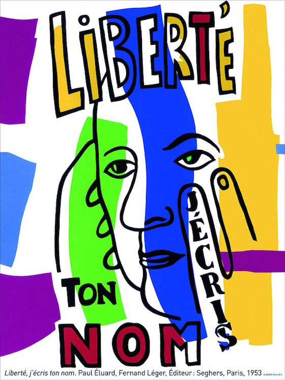 liberte-j-ecris-ton-nom-paul-eluard-fernand-leger-adagp-paris-2015