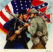 Immustration de la guerre de sécession américaine