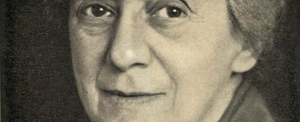 Portrait de Henrietta Szold