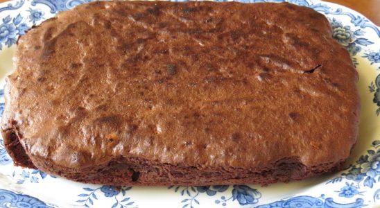 Brownies terminé